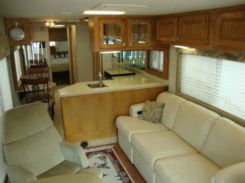 Rv Leather Couch