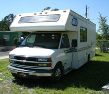 2000 Four Winds 5000 Model 23A Class C Motorhome 1