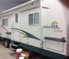 2001 scamper 26 ft travel trailer 1
