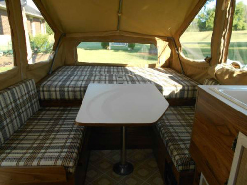 1984 Rockwood pop up camper ready to go - RVShowrooms com