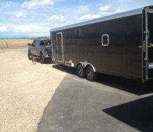 2011 MIRAGE 30 FT TOY HAULER TRAILER BLACKOUT EDITION 1