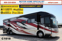 2008 American Coach American Eagle 42R Tag Axle with 4 Slides 1