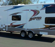 2008 Raptor Toyhauler 5th Wheel 1