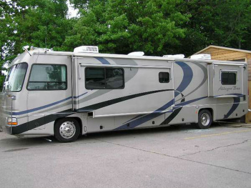 2002 tiffin allegro bus class a diesel pusher motorhome for Class a diesel motor homes
