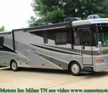 2006 FLEETWOOD PROVIDENCE M-39L DIESEL PUSHER MOTOR HOME